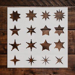 Star Stencils