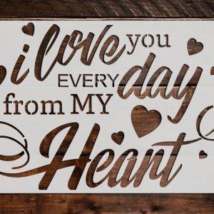 Love Stencils