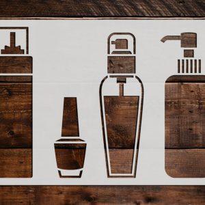 Container Storage Stencils