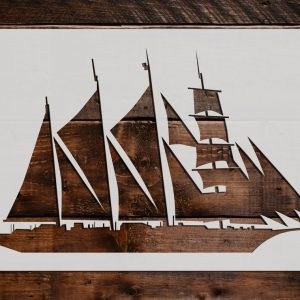 Boats Ships Yachts Stencils